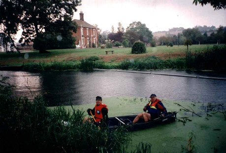Canoeing on the River Stour